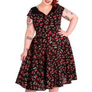 Hell Bunny - Cherry Pop Dress 2X